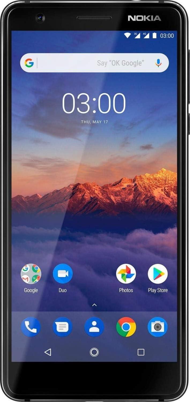 Nokia 3.1 Single SIM Smartphone 12,7 cm (5 Pulgadas) 16 GB Negro ...