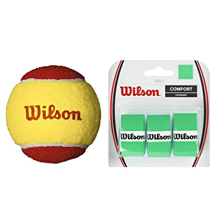 Amazon.com : Wilson US Open Red Tournament Transition Tennis ...
