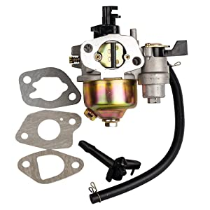 HIFROM Replace Carburetor with Gasket for Harbor Freight Greyhound 196CC 6.5HP Lifan Gas Engine 66014 66015 Carb