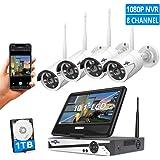 Amazon Com Cobra 4 Channel Wireless Surveillance System