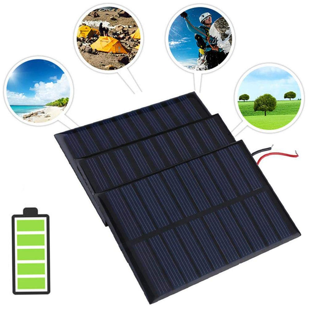 Solar Battery Charger Solar Battery Charger 5V 0.8W 160mA Charging Cell Phones, High Conversion Rate, High Efficiency Output, for Home Lighting by Elec tech (Image #7)