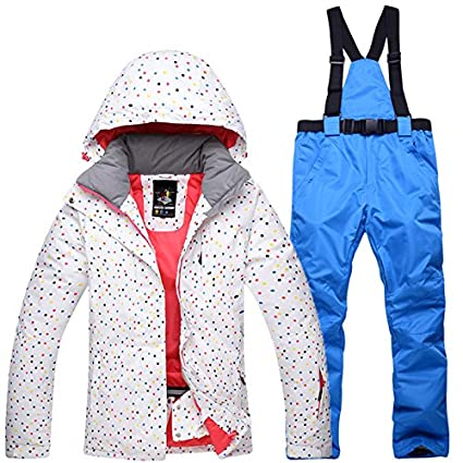 Remote Control Toys Female Girls Winter Snow Jacket Ski Suit Women Snow Jacket+pants Windproof Waterproof Thickened Clothes Snowboard Skiing Sets