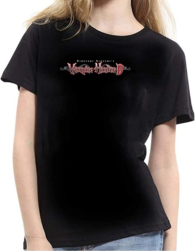 vampire hunter d camiseta logo