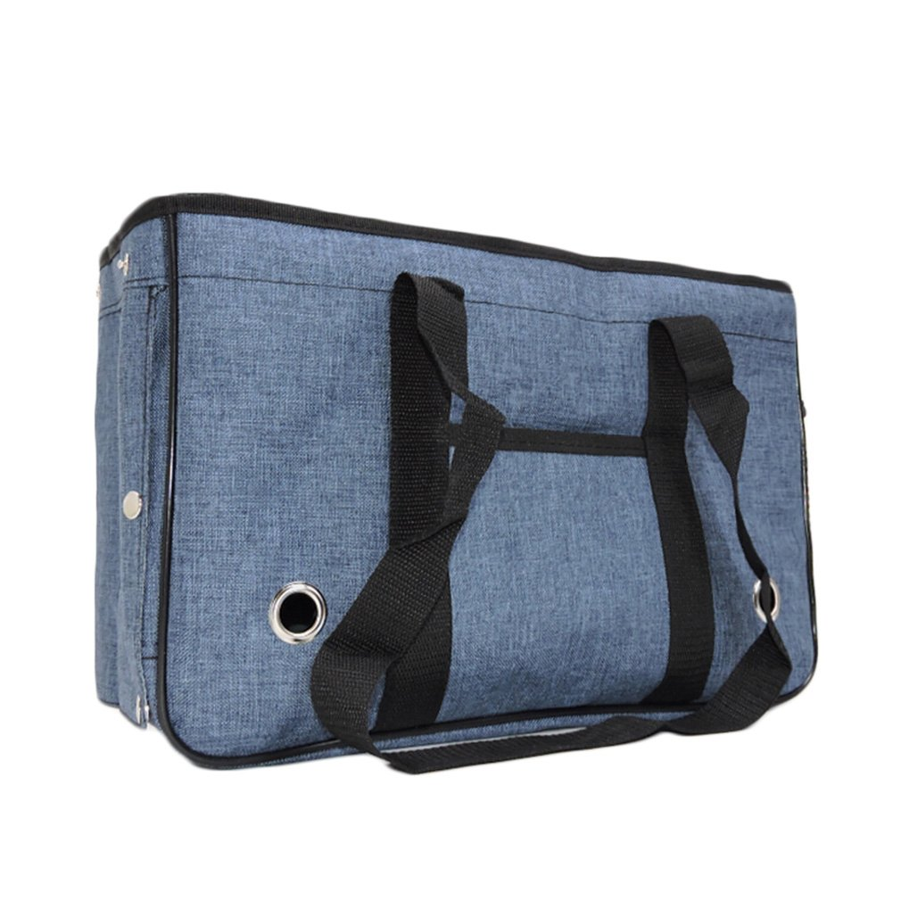 M-45x16x28 cm Pet Carrier Pet Travel Carrier Backpack Comfort Expandable Foldable Travel bag Shoulder Handbag For Dogs and Cats (Size   M-45x16x28 cm)