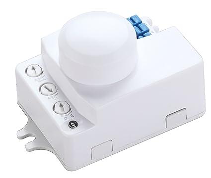 ZEYUN Interruptor de sensor de movimiento de microondas , sensor de ocupación, ángulo de detección