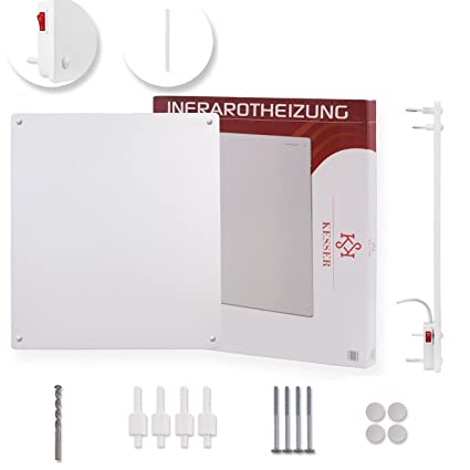 kesser® Calefacción por infrarrojos panel de pared Calefacción RADIADOR DE calefacción por infrarrojos 425 -