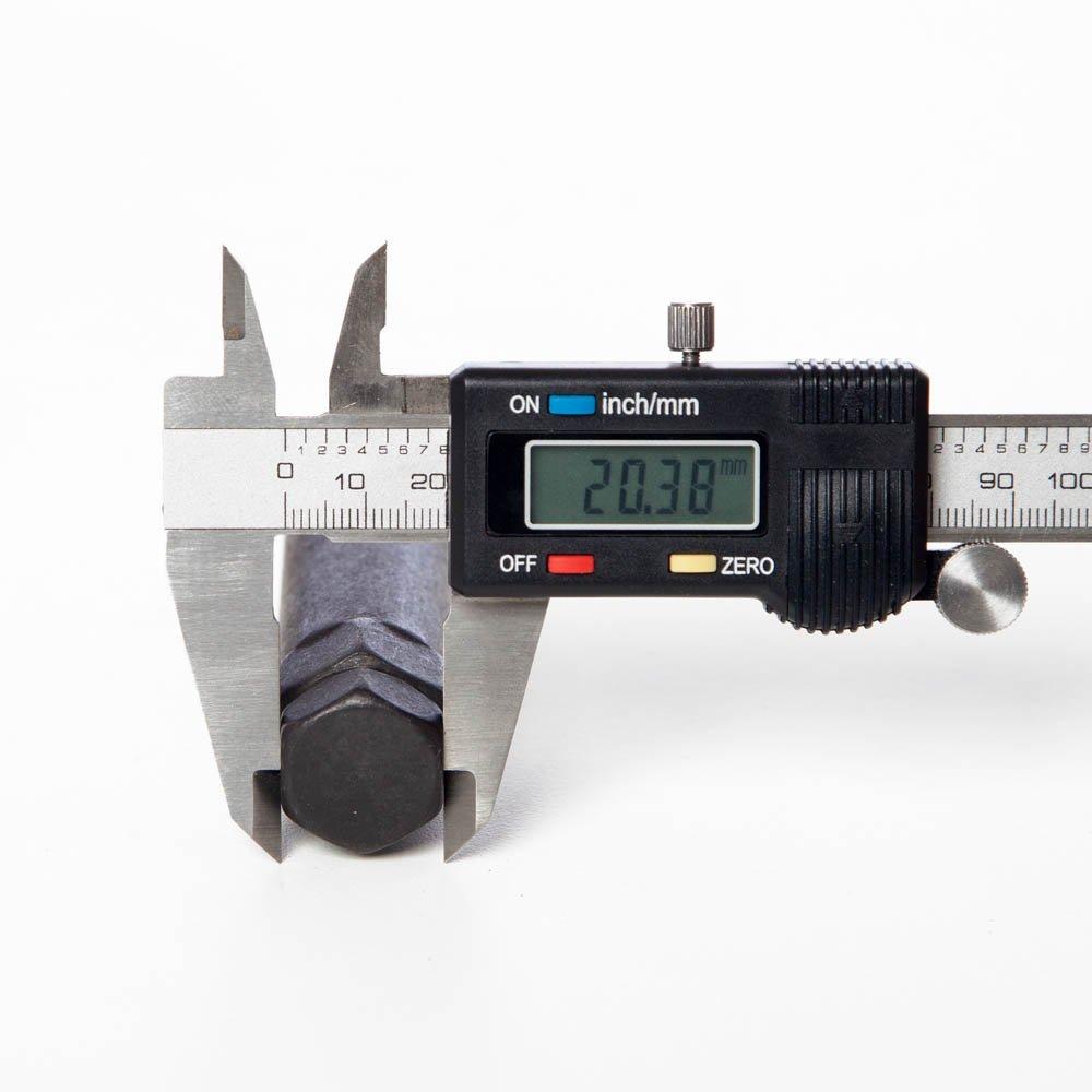 Circuit Performance Large Black 7 Point Standard Spline Tool Key