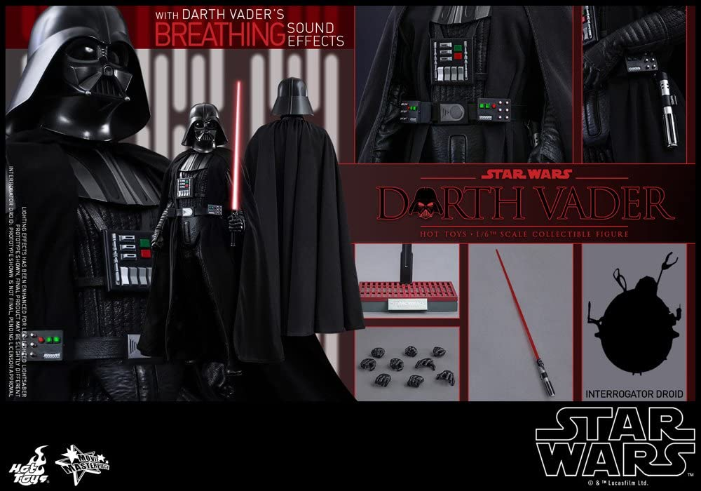 Hot Toys Star Wars A New Hope Darth Vader Sixth Scale Action Figure SS902320