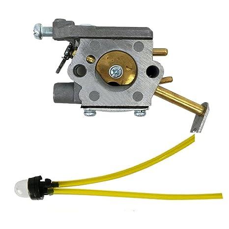 Salvador carburador con pera de combustible línea para Homelite ut-10532 ut-10926 300981002