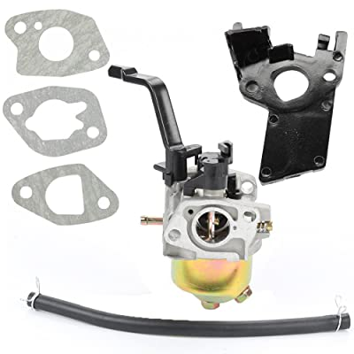 Buckbock Carburetor Carb for Powermate PM0103007 PC0103007 PMC103007 3000 3750 Watt watts 212CC Generator : Garden & Outdoor