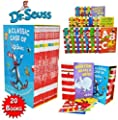 Dr Seuss Classic 20 Books Gift Set (Kids Wonderful World Read at Home Collection) Titles include - The Cat in the Hat, Green Eggs and Ham, Oh The Places you'll Go, One Fish Two Fish Red Fish Blue Fish, Hop on Pop, Dr. Seuss ABC, Ten Apples Up On Top and M