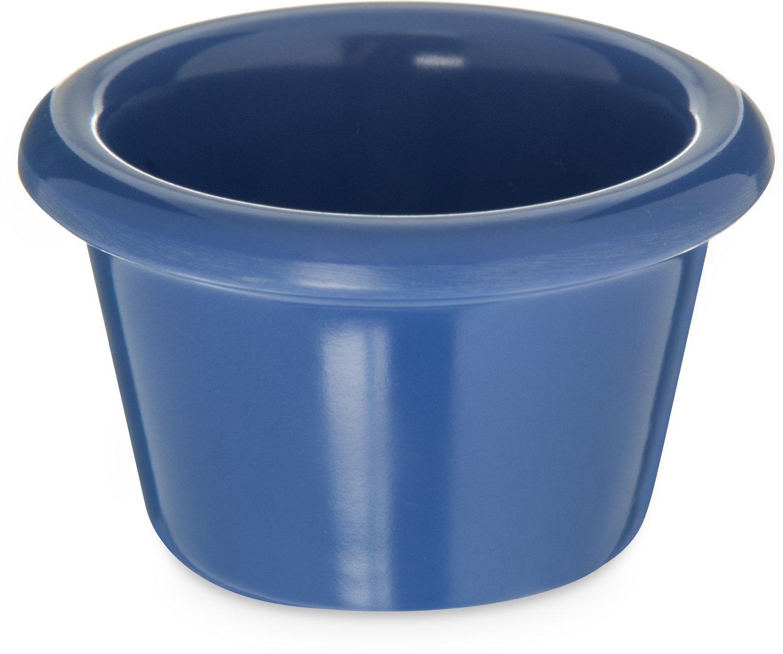 Carlisle S27514 Melamine Smooth Ramekin, 1.5 oz. Capacity, Ocean Blue (Case of 48)