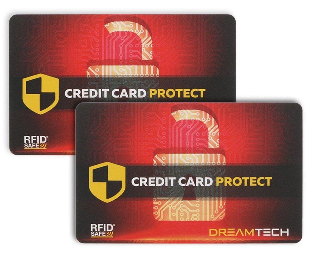 1 x Carte de Blocage RFID DreamTECH – la sécurité antivol Ultime pour Votre Carte de crédit/débit / d'identité. Protégez Votre identité et Vos informations financières avec Un Dispositif d'Apparence RFIDBC-1