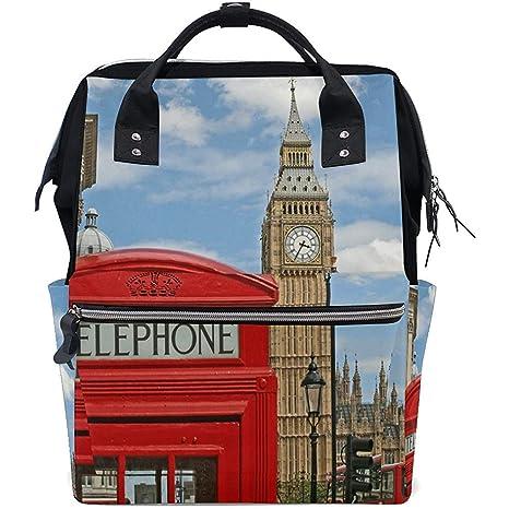 Bolsa de viaje Cabina de teléfono roja Big Ben Bolsas de ...