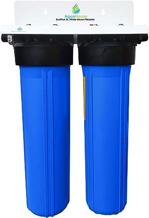 EcoPlus XL Sistema de filtro de agua de la casa entera y ...