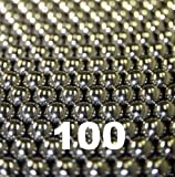 "100 3/64"" Inch 440 Stainless Steel Bearing Balls G25"