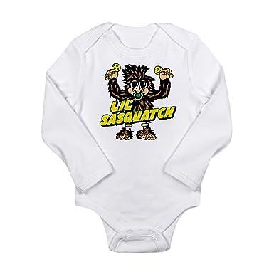 941f3e5c3 Amazon.com  CafePress - Lil Sasquatch - Cute Long Sleeve Infant ...