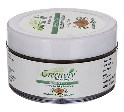 Amazon.com : Greenviv Handmade Sandalwood & Turmeric Natural Brightening Face Pack - 1.7 Oz : Beauty