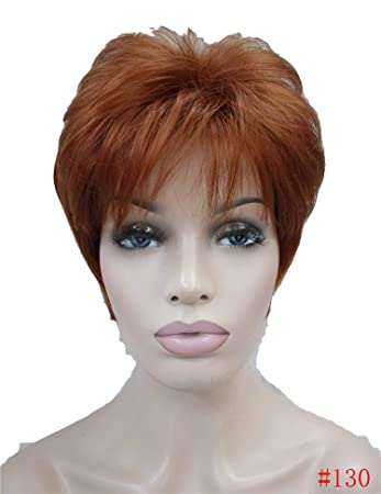 Strong Beauty Synthetic Short Body Wave Wigs 12Color Women Hair Full Wig,#130,