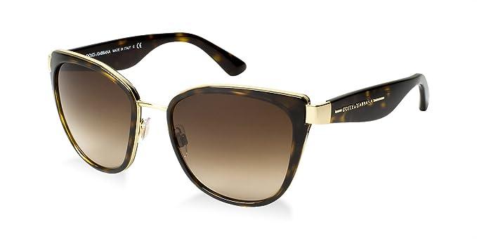 e6200552f847 Image Unavailable. Image not available for. Colour  Dolce   Gabbana Dg2107  100% Authentic Women s Sunglasses Gold 02 13
