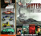 Monster Week Exclusive Matchbox Animal Planet 5-Pack + Water Monsters 4 Film Anaconda / Black Water / Mermaid Chronicles She Creature / Red Water
