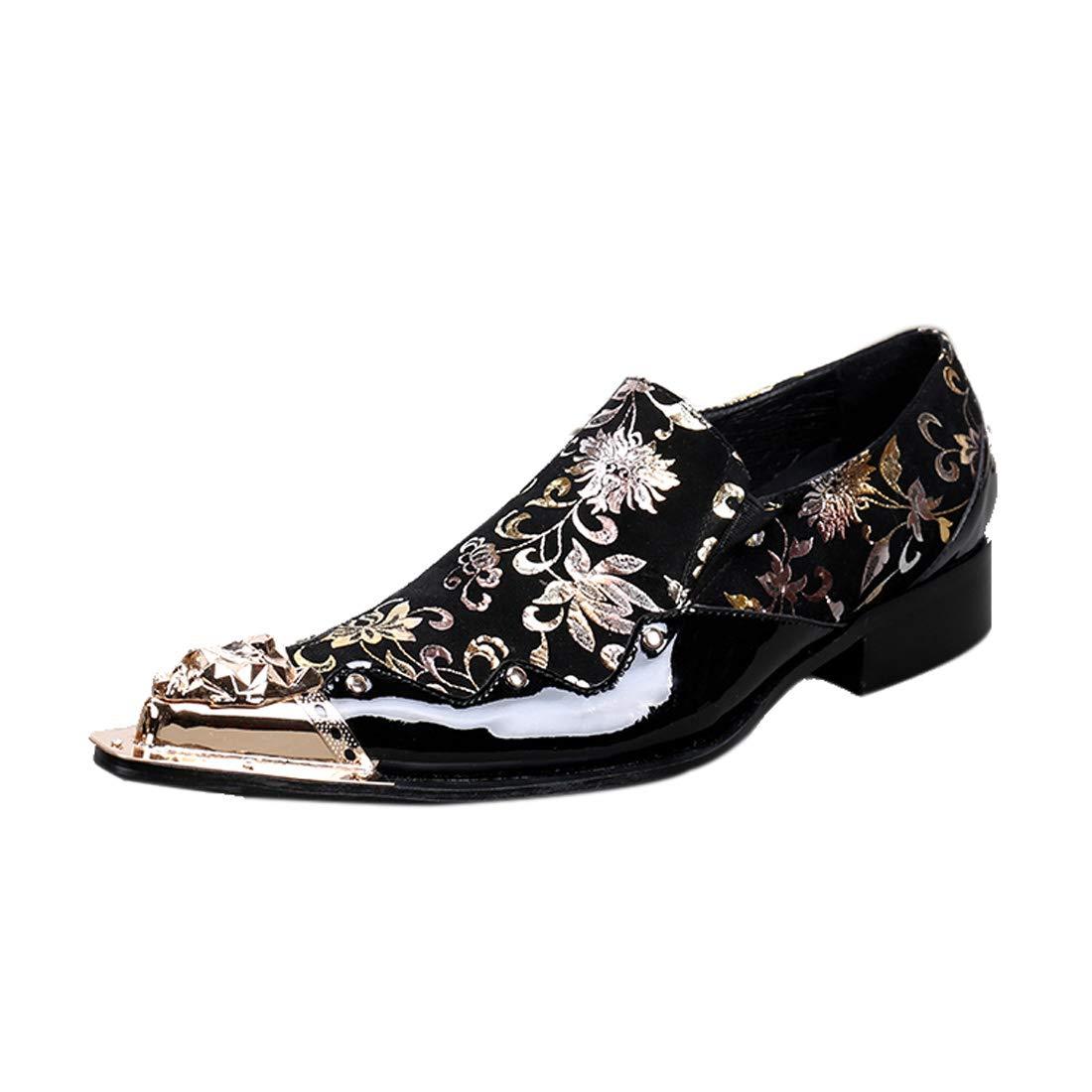 DANDANJIE Formale Schuhe Frühling Herbst Vintage Oxfords Hochzeitsfeier & Abend Neuheit Schuhe