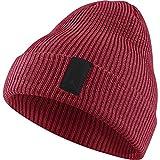 NIKE Mens Jordan Loose Gauge Cuff Beanie 861453-687 - Gym Red