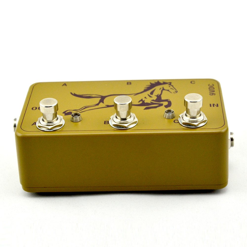 NEW Loop Pedal - 3 Looper -True Bypass-Pedal Board - Electric Guitar Effects Pedal Switch army green