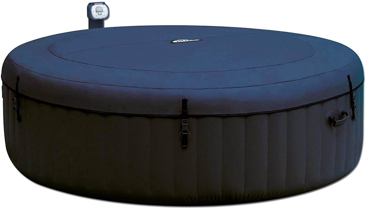Intex Pure Spa 6 Person Inflatable Portable Outdoor Bubble Jets Hot Tub 28409EIntex Removable Slip-Resistant Seat for Inflatable Pure Spa Hot Tub 28502E 2 Pack