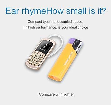 Mini teléfono móvil + manos libres Bluetooth Dialer + ...