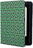 Jonathan Adler Greek Key Cover - Green (Fits Kindle Paperwhite, Kindle & Kindle Touch)
