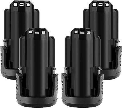 12V 3000mAh 8220 Li-Ionen-Akku Batterie für Dremel 8200 8300 B812-02 B812-01