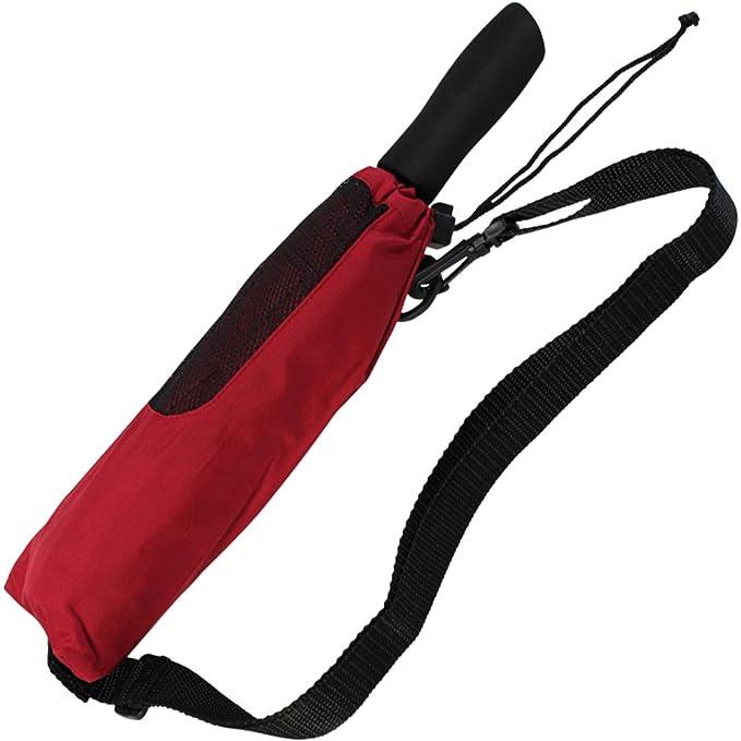 Doppler - Paraguas de bolsillo, XXL, color rojo