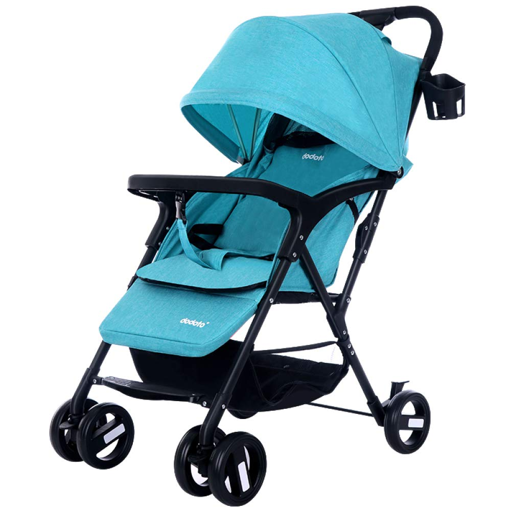 FDGHFGH Multifunctional Baby Four-Wheeled Cart Adjustable Caster Folding Lightweight Baby Wagon 0-3 Years Old by FDGHFGH (Image #1)