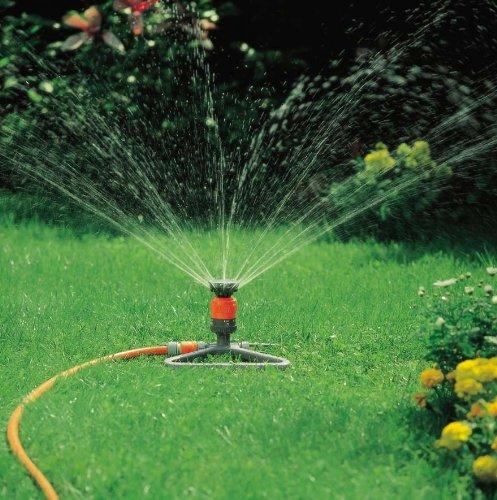 Gardena setting circular sprinkler vario with base