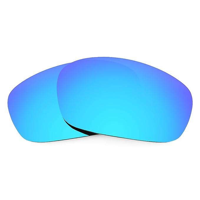 Revant Lentes Oakley Racing Jacket (Azul Hielo) MirrorShield®: Amazon.es: Ropa y accesorios