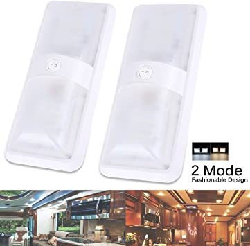 xinxiu Van Interior Lights 6x12v Interior LED Light For Camper Van Caravan Motorhome White Light