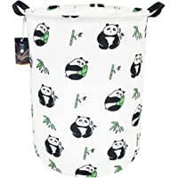 """HKEC 19.7""""Waterproof Foldable Storage Bin, Dirty Clothes Laundry Basket, Canvas Organizer Basket for Laundry Hamper, Toy Bins, Gift Baskets, Bedroom, Clothes, Baby Hamper"""