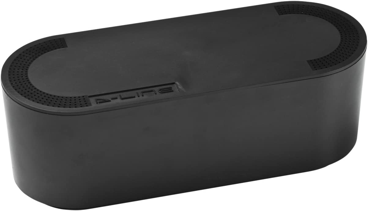 D-Line EU/CTUSMLB/SW - Caja Organizadora de Cables, Negro, Pequeña