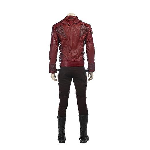 QWEASZER Guardianes 2 Star-Lord Disfraz Adulto Marvel ...