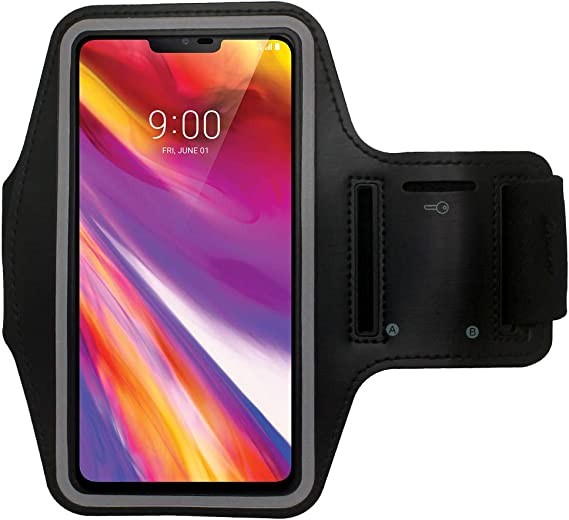 LG G7 THINQ Running Sports Gym Jog Exercise Armband Phone Case Cover