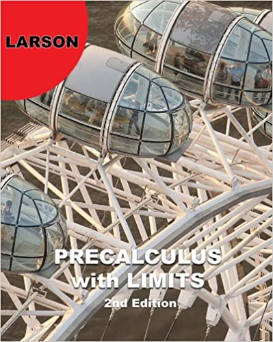 Precalculus With Limits 002 Ron Larson