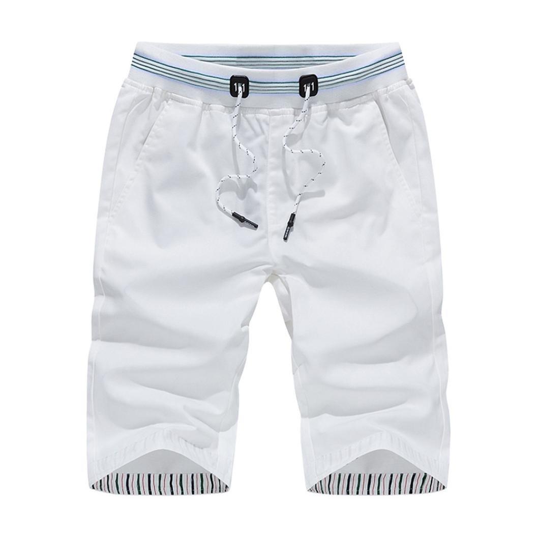 OHQ Pantalon De Sport pour Homme Short Plage Raccourci Kaki Bleu Blanc Fonc/é Hommes Shorts Maillots Bain /à S/éChage Rapide Surf Running Pantalons deau Natation
