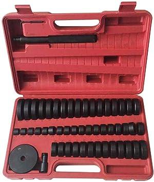 Yiyiby 52 Tlg Montagescheiben Buchsen Simmering Werkzeug Set Druckstück Treibsatz Lager Schalen Wechsel Einpressen 18 65 Mm Auto