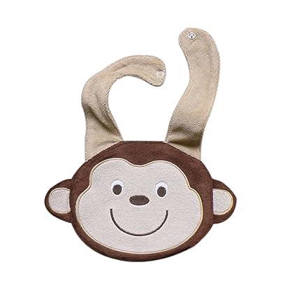 culater® Baby Mono Caricatura resistente al agua babero saliva Toalla