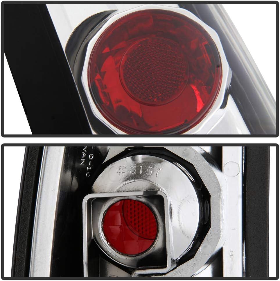 ACANII For 1988-1998 Chevy Silverado GMC Sierra C10 Suburban Tahoe Smoked Tail Lights Brake Lamps Driver /& Passenger
