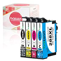 Batuto Replacement for 288 288XL Ink Cartridge Compatible for Expression Home XP-330 XP-340 XP-430 XP-434 XP-440 XP-446 Printer 4pk (Black/Cyan/Magenta/Yellow)