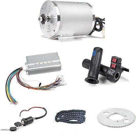 Amazon.com: BLDC 72V 3000W Kit de motor sin escobillas con ...