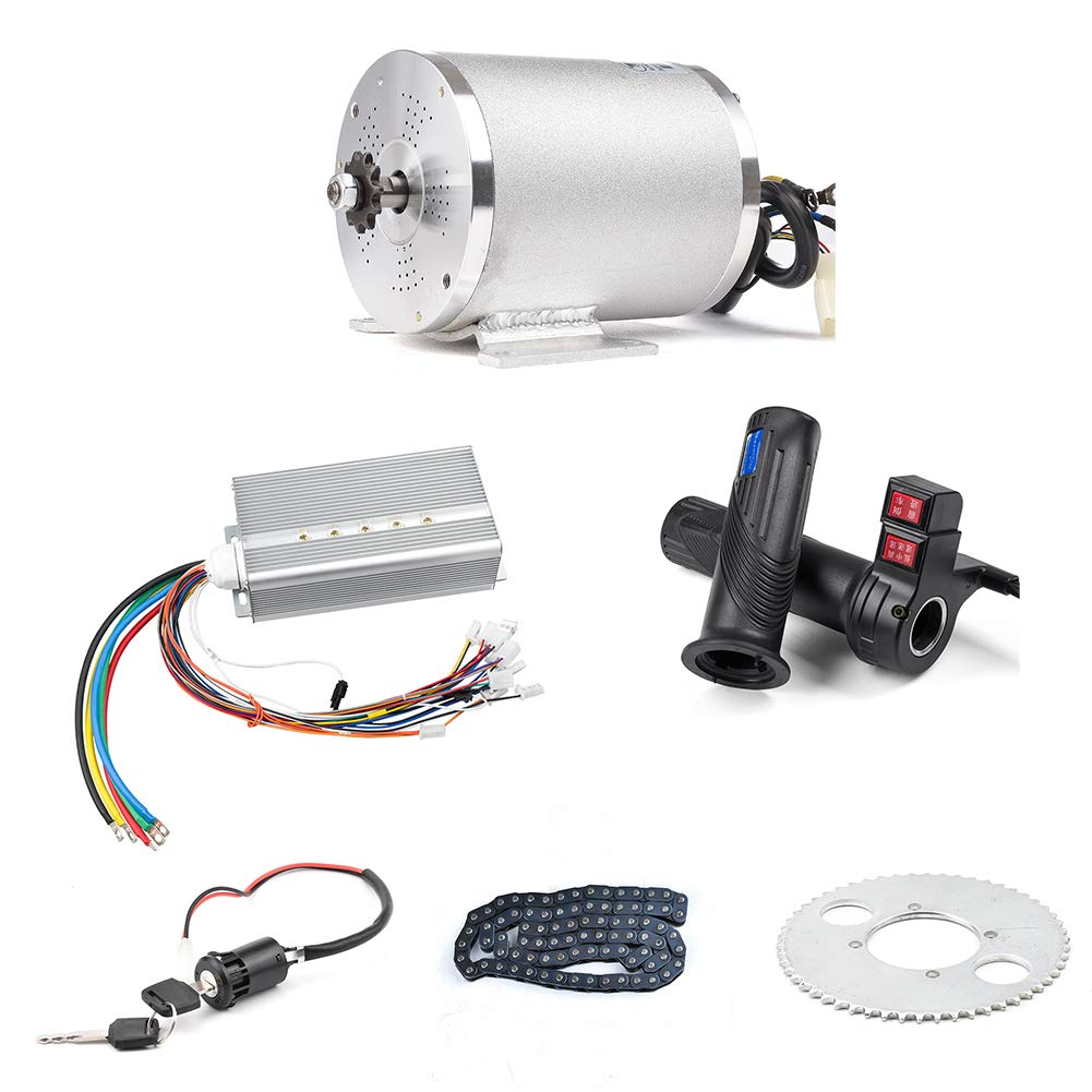 Amazon.com : BLDC 72V 3000W Brushless Motor Kit with 24 Mosfet 50A Controller and Throttle for Electric Scooter E Bike Engine Motorcycle DIY Part Conversion ...
