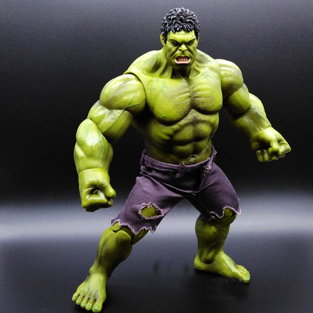 Zhizaibide Avengers Toys Model Hulk Doll Toys Crafts Pvc Gift Box